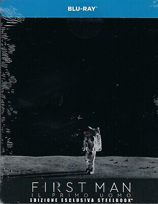 First Man (2018) Limited Edition SteelBook (Region Free Italy Import Blu-ray)