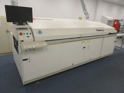 BTU Pyramax 98A SMT Reflow Oven, Excellent Condition, Edge Rail and Mesh