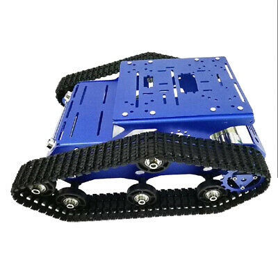 Obstacle Avoidance Robot Tank Chassis Kits Car Light Shock Smooth Operation