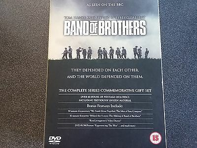 Band of Brothers The Complete Series Commemorative Gift Set (Inc. New Footage)