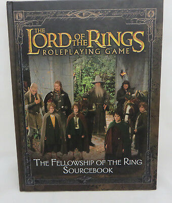 The Lord of the Rings Roleplaying Fellowship Ring source book h/c minty decipher