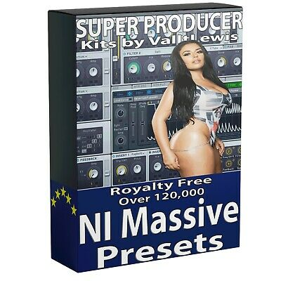 120,000+ NI Massive Synth Presets Ableton Live Bitwig Logic FL Studio One Cubase