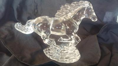 Waterford Crystal Running Horses by Fred Curtis
