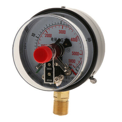Electro Connecting Water Pressure Gauge Dial Manometer 0-40MPA