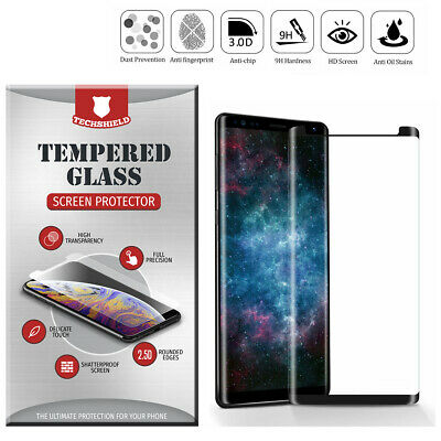 Tempered Glass Full Cover Curved Edge For Samsung Galaxy Note 8 9 S8 S9 S10 Plus