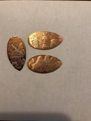 Disney Electrical Parade Retired Copper Pressed Pennies