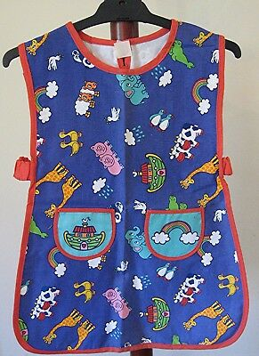 Childs CRAFT APRON Boy Girl Chefs Kitchen Cooking Paint Art Smock