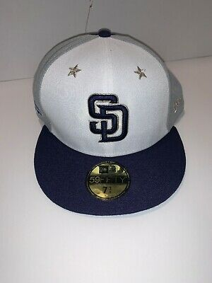 new arrival 3f491 57ba4 San Diego Padres Cap, New Era 2018 MLB Hat All-Star Game On-