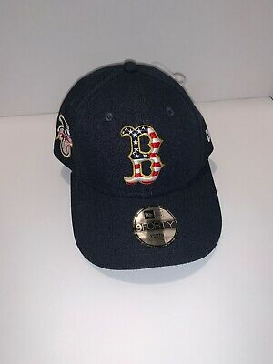official photos 996e9 594dc Boston Red Sox Youth New Era 2018 Stars   Stripes 4th of July 9FORTY Adj Hat