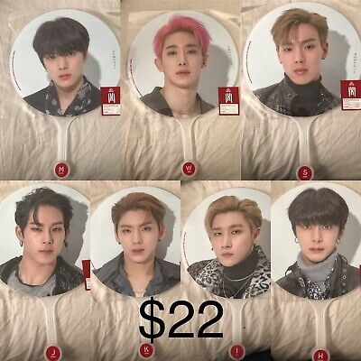 2019 Monsta X World Tour We Are Here Official Goods Fan Image Picket