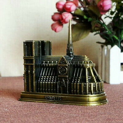 Notre Dame DE Paris Cathedral France Tourism Souvenir 3D Metal Model Craft Gift