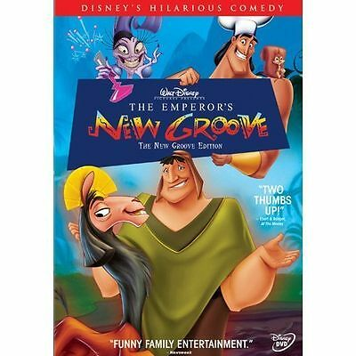 Walt Disney's The Emperors New Groove DVD