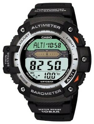 CASIO Watch Sports Gear Twin Sensor SGW-300H-1AJF Men in Box