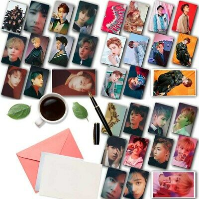 10pcs/set Kpop NCT127 NCT DREAM Empathy Card Stickers Photo Cards DIY Stickers
