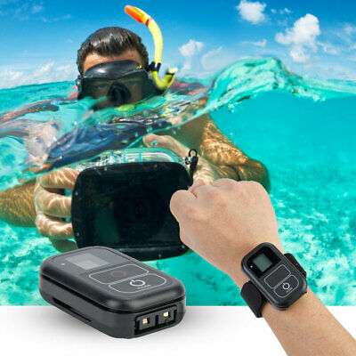 Waterproof Wireless WiFi Remote Control For Gopro Hero 7 6 5 4 +Charging Cable