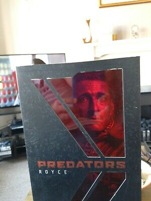 "Hot Toys 1/6 scale 12"" Royce figure from Predators Movie Predator"