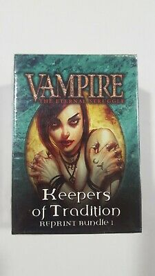 Vampire VTES - Keepers of Tradition - Reprint Bundle 1 - SEALED.