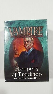 Vampire VTES - Keepers of Tradition - Reprint Bundle 2 - SEALED.