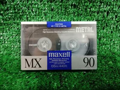 Maxell MX 90 minute  Type IV / Metal Blank Cassette