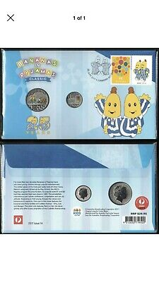2017 BANANAS in PYJAMAS PNC AUSTRALIA BEAUTIFUL COLOURED COINS & STAMPS -PERFECT