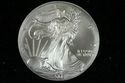 ESTATE FIND  2003  American Silver Eagle  #D18183