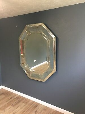 LARGE QUALITY VENETIAN STYLE MIRROR GREAT SIZE 137cm x 108cm