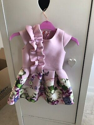 Baby Girl Ted Baker Dress 12/18 Months New With Tags