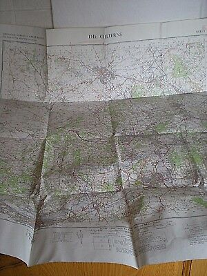 A Large Ordnance Survey Map of  THE CHILTERNS Dated 1967- Sheet No 159