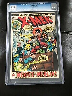 x-men 78 (1972) - CGC 8.5 (unrestored)