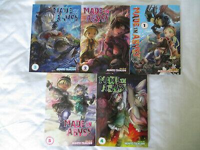 Made In Abyss 1-5 (Manga)