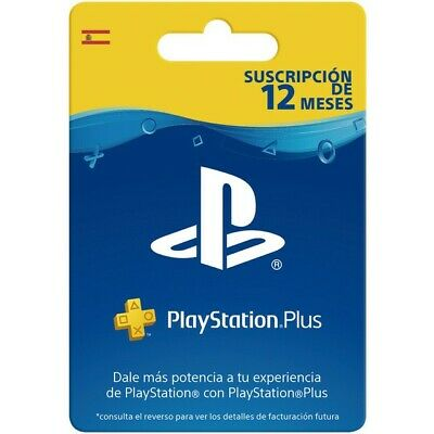 Playstation Plus Psn 12 Meses Suscripcion Ps4 Ps Store Codigo Digital Oficial