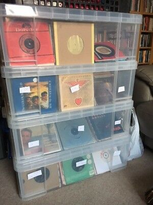 7 inch single, 45 rpm vinyl records for your jukebox. N to Z
