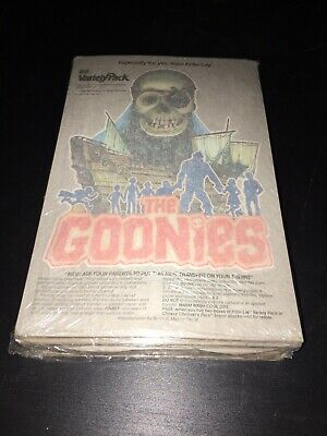 Vintage 1985 GOONIES Movie Frito Lay PROMO IRON ONS Sealed Pack Of 48 VERY RARE!