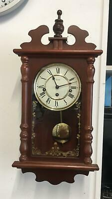 Hermle Pendulum Wall Clock With Westminster Chime - Operating Instructions Inc.