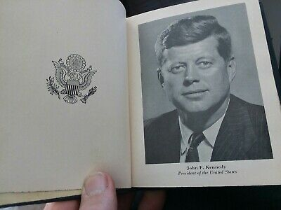 1963 88th eighty-eighth Pocket Congressional Directory JFK  DS 1059a