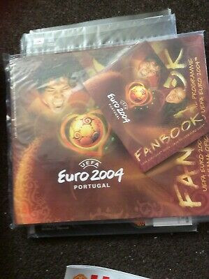 Euro 2004 finals programme Portugal sealed