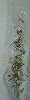 Botanical Study Tiger Lilies Watercolor Indstly Sheila Neumham? British Sch 2000