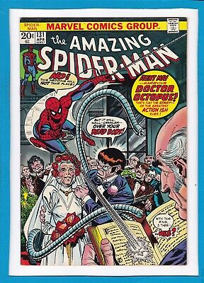 """Amazing Spider-Man #131_April 1974_Very Good_""""aunt May Marries Doc Ock""""!"""