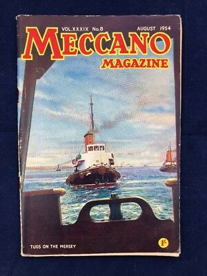 MECCANO MAGAZINE August 1954