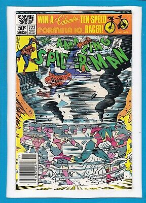 AMAZING SPIDER-MAN #222_NOVEMBER 1981_NM MINUS_1st APPEARANCE OF SPEED DEMON!