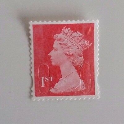50 1st class unfranked stamps - off paper no gum