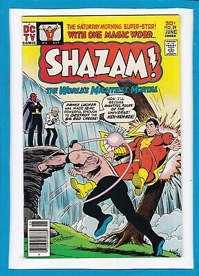 Shazam! #29_June 1977_Very Good+_The World's Mightiest Mortal_Dc Tv Comic!