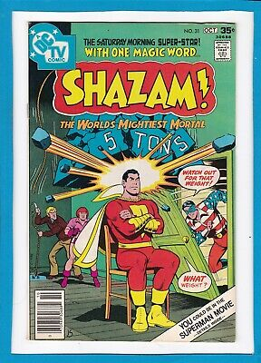 Shazam #31_October 1977_Vf Minus_The World's Mightiest Mortal_Dc Tv Comic!