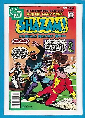 Shazam #32_December 1977_Very Fine+_The World's Mightiest Mortal_Dc Tv Comic!