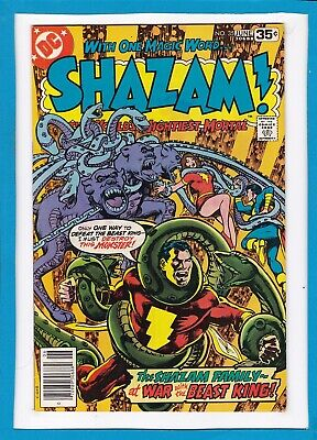 Shazam #35_June 1978_Very Fine Minus_The World's Mightiest Mortal_Bronze Age Dc!
