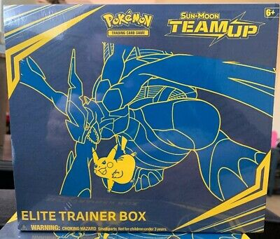 Pokemon TCG Sun & Moon Team Up Elite Trainer Box (New/Sealed)