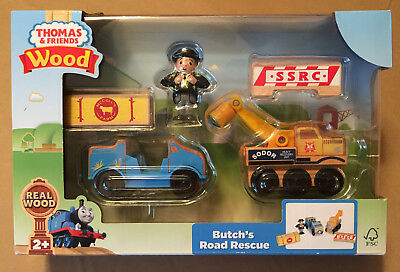 BUTCH/'S ROAD RESCUE Thomas Tank Engine WOODEN Railway NEW IN BOX 2018 Release