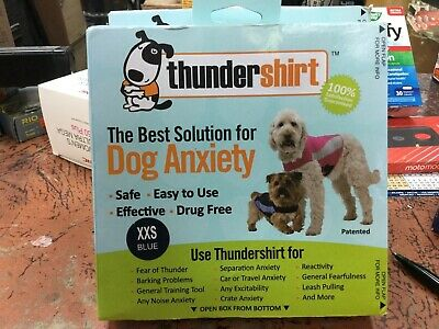 THUNDERSHIRT POLO for Dogs RELIEVES STRESS & ANXIETY BLUE xxs