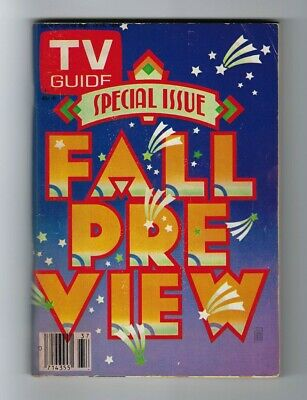 TV GUIDE SEPT 1980 FALL PREVIEW ISSUE No Sticker New York City Metro Clean Copy!