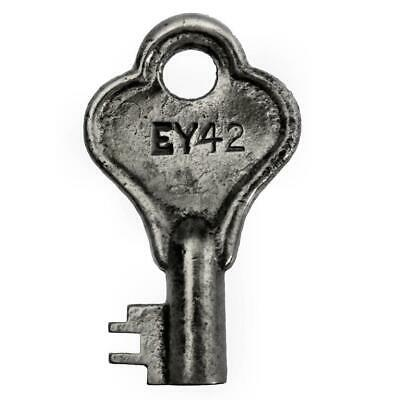 "Vintage Steamer Trunk/Padlock Key EY42 1½"" - ref.k610"